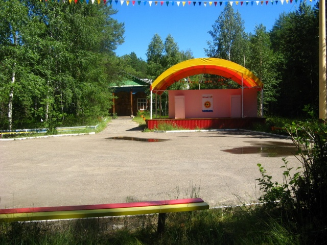 Пансионат Яльчик Танц-площадка