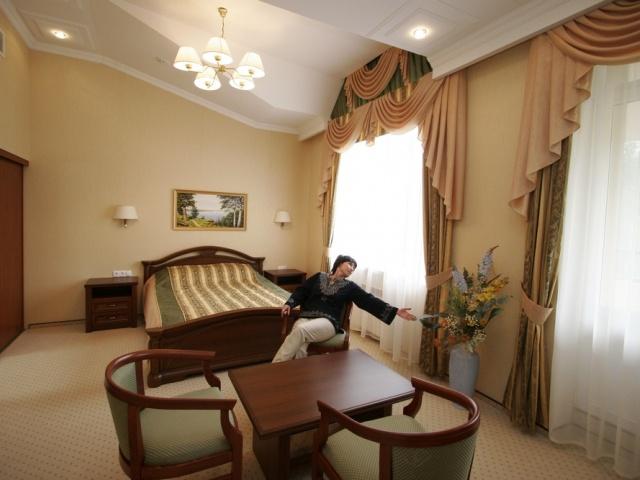1-но комнатный 2-х местный номер «Люкс»